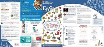 Walt Disney World Map Pdf by 2017 Epcot Food And Wine Festival Guidemap Blog Mickey