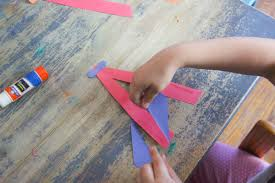 a is for airplane letter craft letter a craft for kids