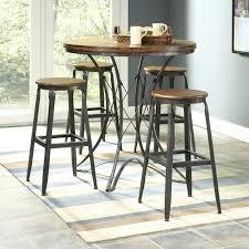 custom made rustic log star design bar pub table with stools