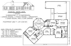 house plans 1 story 2201 2800sq 3 bedroom house plans