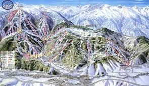 Colorado Ski Resort Map Trail Maps The Slope