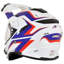motocross helmets ebay afx racing fx 41ds at mens street sport bike motorcycle dot dual