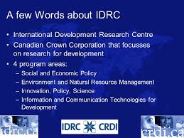 pan ict4d in asia a few words about idrc international
