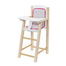 chaise haute poup e chaise haute pour poupée imagibul création oxybul pour enfant de 2