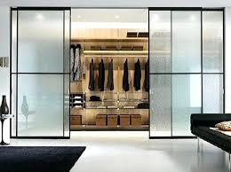 Closet Glass Door Glass Walk In Closet Bench Designs Sliding Glass Door Walk In