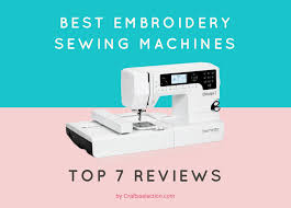 best embroidery sewing machines beginners to expert