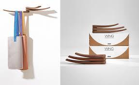 wing wall mounted coat rack hivemodern com