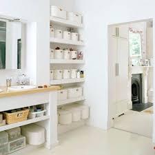 bathroom cabinet storage ideas bathroom storage ideas fresh and clean white open shelving in a