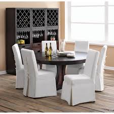 com padma s plantation pacific beach dining chair slipcover sunbleached white kitchen dining