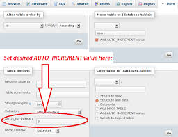 sql create table primary key autoincrement 55 mysql alter table set php mysql alter table if not exists