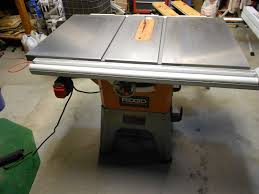 Ridgid Table Saw Extension R4512 And Saw Stop Cast Iron Wings As An Upgrade Woodworking
