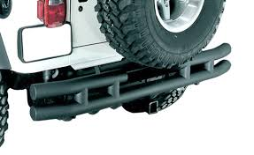 Rugged Ridge Tire Carrier 2007 2016 Jeep Wrangler Rugged Ridge Rear Tube Bumper Rugged