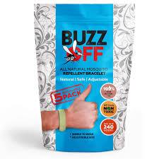 amazon com buzz off 100 natural mosquito repellent bracelets