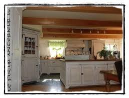 armoire de cuisine rustique le futur antérieur