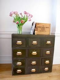 Vintage Industrial File Cabinet Vintage Metal File Cabinets Industrial Office Vintage