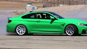 green bmw m4 2015 acm signal green f82 bmw m4 donuts and burnouts streets of