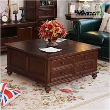 ash coffee table with drawers square wood coffee table with storage new no 4 large ash wood coffee