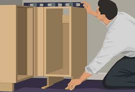Kitchen Cabinet Installation Cost Home Depot by Base Cabinet Installation Guide At The Home Depot