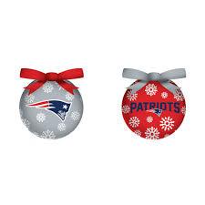 new patriots light up ornament set of 6