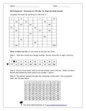 counting to 100 lesson plans u0026 worksheets reviewed by teachers