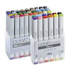 copic sketch marker sets jackson u0027s marker pen case free