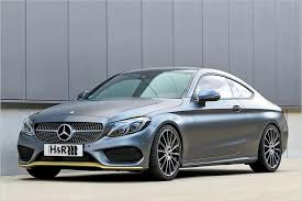 mercedes c class coupe tuning subtle depth mercedes c class coupe with h r springs