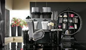 Dining Room Decorating Ideas Dining Room Unique And Modern Black And White Dining Room Decor