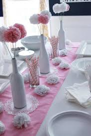 baptism table centerpieces diy baby shower ideas for delightful baby christening table