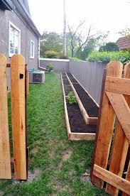 What Type Of Wood For Raised Garden - the 25 best narrow garden ideas on pinterest small gardens