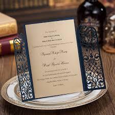 Engagement Invitation Cards Designs Laser Cut Wedding Party Custom Invitations Engagement Cards In