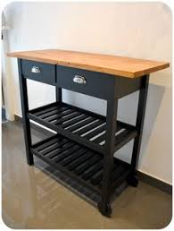 desserte bois ikea ikea hackers förhöja kitchen cart with wine crate fronts we