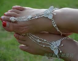 wedding barefoot sandals 2018 bohemian bridal accessories wedding barefoot sandals