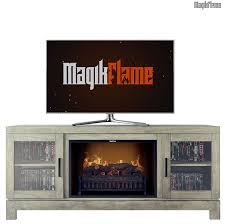 nike spanish gray media center electric fireplace wall mantel tv