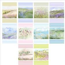designer tea towels by artist sue fenlon cotton linen mix