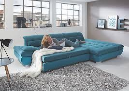 xxxlutz sofa wohnlandschaft in türkis textil kaufen xxxlutz