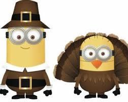 minion thanksgiving clipart clipartxtras