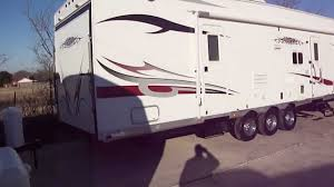2007 vortex toy hauler fifth wheel toy haulers for sale in