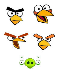 angry bird template organizer pinterest bird template