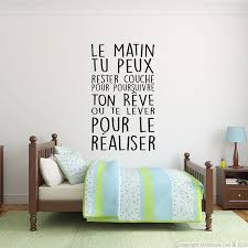 citation chambre stickers phrase chambre vtpie