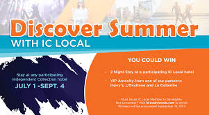 discover local perks sweepstakes independent collection