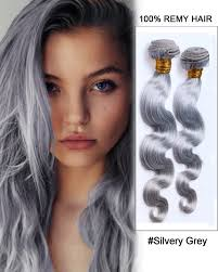can ypu safely bodywave grey hair silvery grey weave body wave weft remy human hair extensions