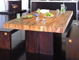 Reclaimed Wood Dining Room Furniture Reclaimed Wood Dining Table Designs Recycled Things