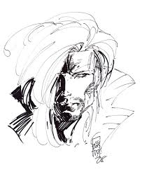 the unpublished x men marc silvestri sketch