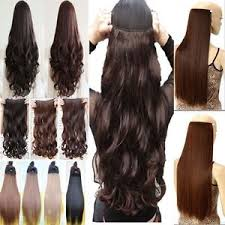 real thick as human hair 1piece clip in hair extensions