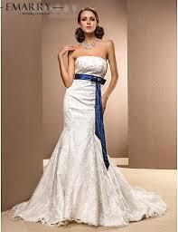 wedding dresses with sash ribbon aliexpress com buy ysz510 vestido de noiva vintage mermaid