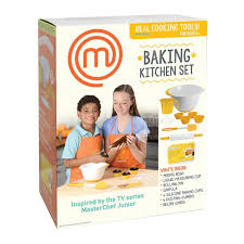 amazon com masterchef junior baking kitchen set 7 pc kit