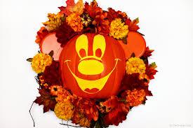 mickey u0027s not so scary halloween wreath as the bunny hops