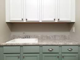 Cabinets For Laundry Room Painted Laundry Room Cabinets How To Nest For Less