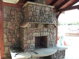 Concrete For Fireplace by Faux Rock For Fireplace U2013 Apstyle Me