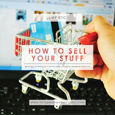 how to sell your stuff printable sell your stuff list ebay